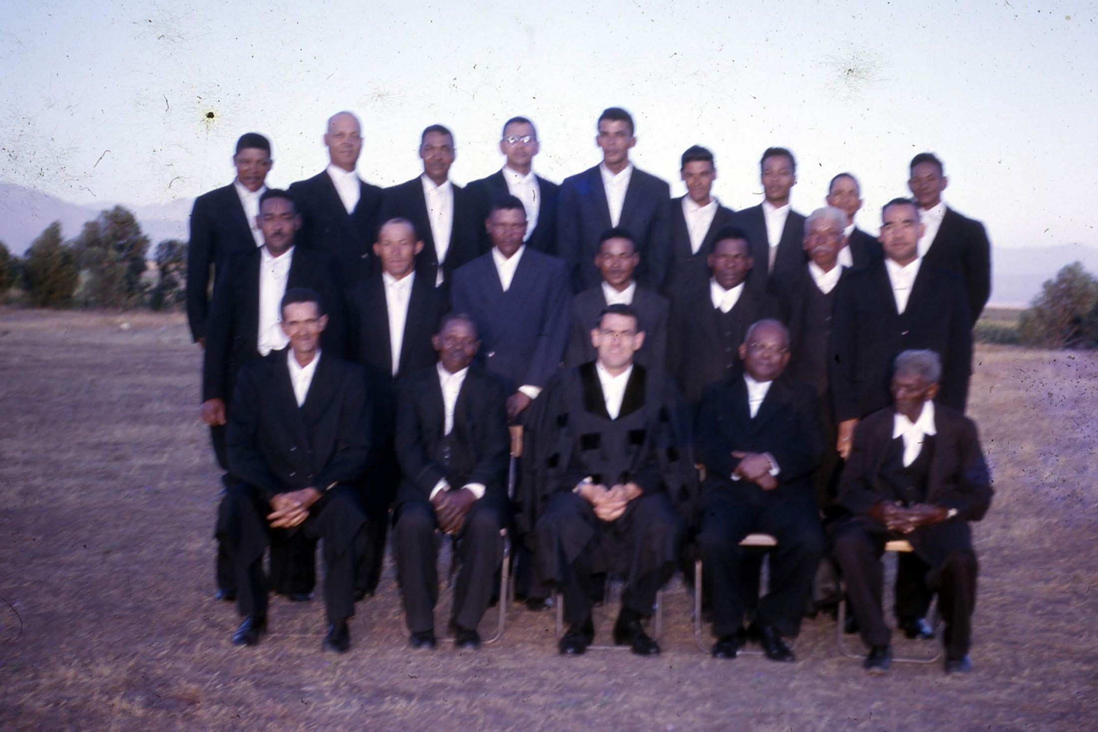 Kerkraad and teachers